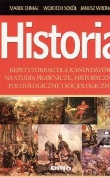 Historia Repetytorim dla kandydatów na studia prawnicze, historyczne, politologiczne i socjologiczne /113898/