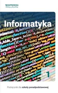 Informatyka podręcznik dla szkół ponadpodstawowych 1 /33246/