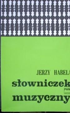 Słowniczek muzyczny /113389/