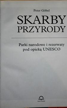 Skarby przyrody Parki narodowe i rezerwaty pod opieką UNESCO