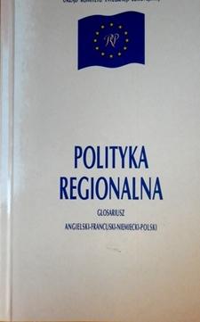 Polityka regionalna Glosariusz