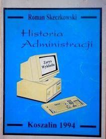 Historia administracji zarys wykładu