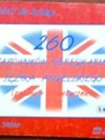 260 czasowników nieregularnych języka angielskiego