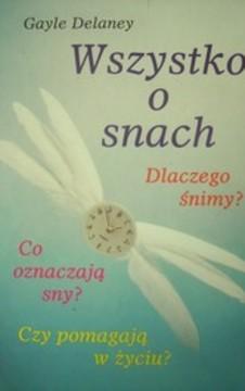 Wszystko o snach /721/