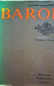 Barok Historia literatury polskiej