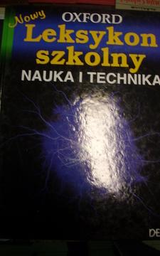Oxford Nowy Leksykon szkolny Nauka i technika /20465/