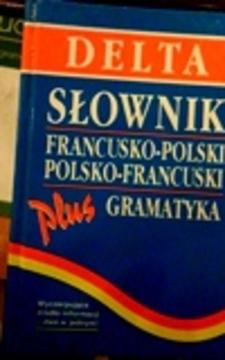 Słownik francusko-polski polsko-francuski plus gramatyka /112497/