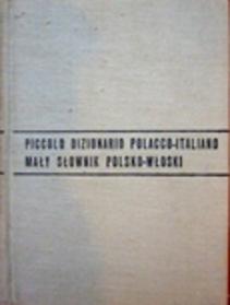 Mały słownik polsko-włoski, włosko-polski.
