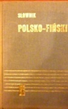 Słownik Polsko-Fiński /111169/