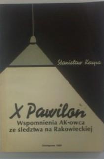 X Pawilon Wspomnienia AK-owca ze śledztwa na Rakowieckiej