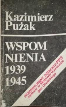 Wspomnienia 1939-1945 /33152/