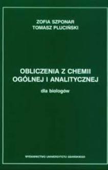 Obliczenia z chemii ogólnej i analitycznej