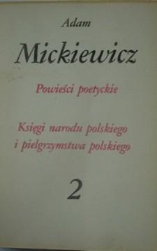 Powieści poetyckie 2 Księgi Narodu Polskiego i pielgrzymstwa polskiego  /749/