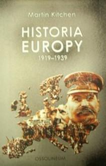 Historia europy 1919-1939