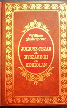 EX Libris Juliusz Cezar Ryszard III Koriolan /1836/