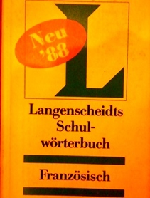 Słownik francusko-niemiecki, niemiecko francuski.