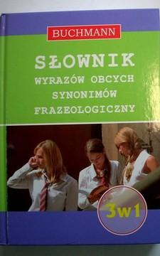 Słownik wyrazów obcych synonimów frazeologiczny 3w1 /10773/