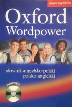 Oxford Wordpower słownik angielsko-polski, polsko-angielskim /10396/