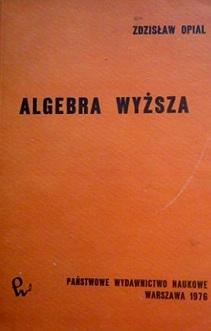 Algebra wyższa