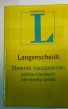 Słownik kieszonkowy polsko-miemiecki niemiecko-polski /111530/