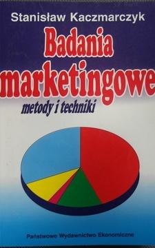Badania marketingowe metody i techniki