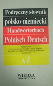 Podręczny słownik polsko - niemiecki Handworterbuch /32888/