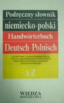 Podręczny słownik niemiecko - polski /32889/