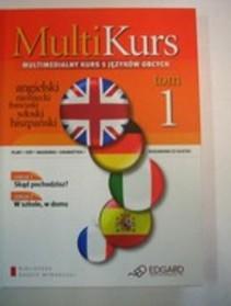 Multi Kurs Tom 1 Multimedialny kurs 5 języków obcych