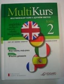 Multi Kurs Tom 2 Multimedialny kurs 5 języków obcych