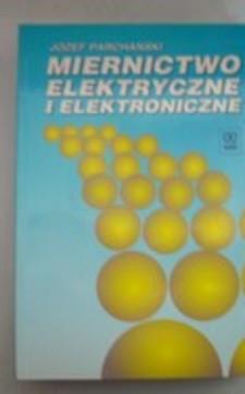 Miernictwo elektryczne i elektroniczne /5102/