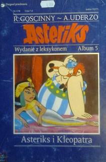 Asteriks i Kleopatra Wydanie z leksykonem Album 5