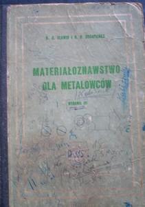 Materiałoznawstwo dla metalowców