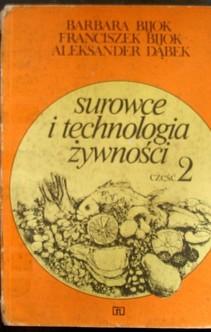 Surowce i technologia żywności część 2