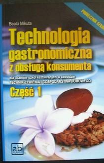 Technologia gastronomiczna z obsługą konsumenta części 1