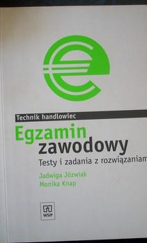 Technik handlowiec Egzamin zawodowy Testy i zadania z rozwiązaniami