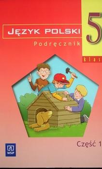 Język polski 5 część 1 podręcznik dla szkoły podstawowej specjalnej