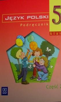 Język polski 5 część 2 podręcznik dla szkoły podstawowej specjalnej