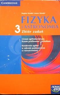Fizyka i astronomia 3 LO Zbiór zadań