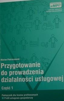 Przygotowanie do prowadzenia działalności usługowej Podręcznik cz.1