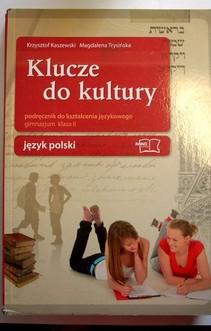 Język polski 2 gim. Klucze do kultury Podręcznik do kształcenia językowego