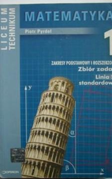 Matematyka 1 LO ZPiR Zbiór zadań Linia 2 standardowa