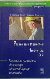Planowanie elementów środowiska cz.2 Podręcznik