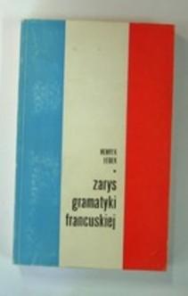 Zarys gramatyki francuskiej