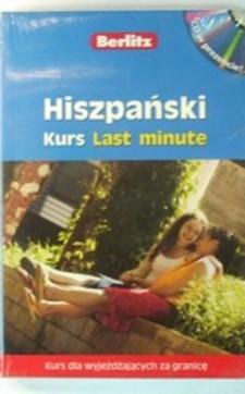 Hiszpański Kurs Last minute /3940/