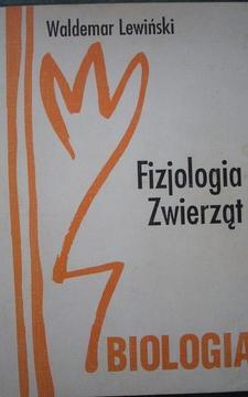 Biologia Fizjologia Zwierząt /112780/