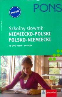 Szkolny słownik niemiecko-polski polsko-niemiecki