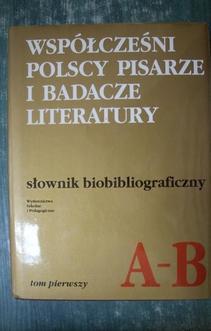Słownik Biobibliograficzny TOM 1
