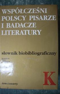 Słownik Biobibliograficzny TOM 4