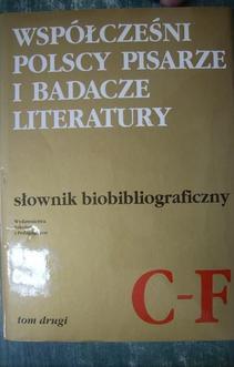 Słownik Biobibliograficzny TOM 2