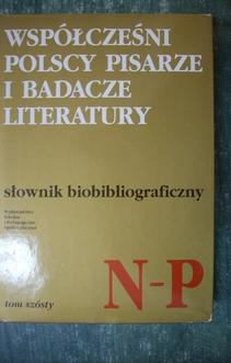 Słownik Biobibliograficzny TOM 6